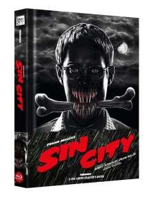 Sin City (Blu-ray & DVD im wattierten Mediabook), 2 Blu-ray Discs