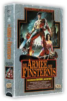Die Armee der Finsternis (Limited Collector's Edition im VHS-Design) (Blu-ray), 3 Blu-ray Discs
