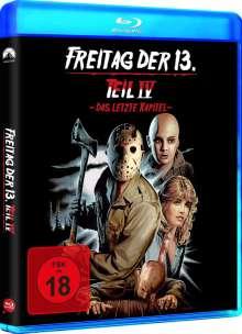 Freitag, der 13. Teil 4: Das letzte Kapitel (Blu-ray), Blu-ray Disc