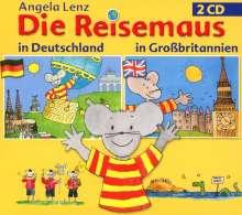 Die Reisemaus in Deutschland und Großbritanien, 2 CDs
