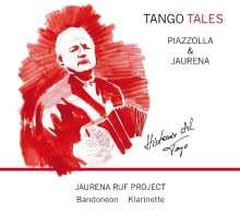 """Jaurena Ruf Project: Tango Tales - Piazzolla & Jaurena """"Historia Del Tango"""", CD"""