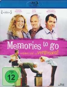 Memories to go (Blu-ray), Blu-ray Disc