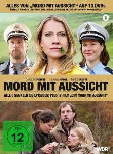 Mord mit Aussicht Staffel 1-3 (inkl. TV-Film), 13 DVDs