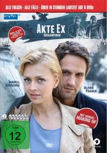 Akte Ex (Gesamtbox), 6 DVDs