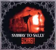 Subway To Sally: Schrei! / Engelskrieger in Berlin: Live (CD + DVD), 1 CD und 1 DVD
