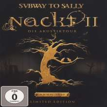 Subway To Sally: Nackt II (Limited Edition Digipack) (DVD + CD), 2 DVDs