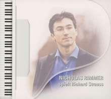 Nicholas Rimmer spielt Richard Strauss, CD