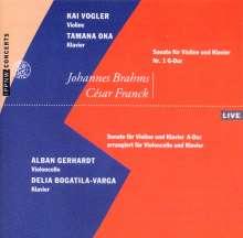 Johannes Brahms (1833-1897): Sonate für Violine & Klavier Nr.1 (op.78), CD