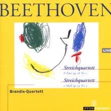 Ludwig van Beethoven (1770-1827): Streichquartette Nr.1 & 8, CD