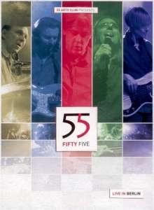 55 Fifty Five: Live In Berlin, 1 DVD und 2 CDs