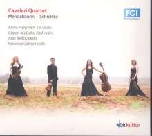 Felix Mendelssohn Bartholdy (1809-1847): Streichquartett Nr.2 op.13, CD
