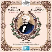 Ignaz Moscheles (1794-1870): 10 Präludien aus dem Wohltemperierten Klavier von J.S.Bach mit einer hinzukomponierten Cellostimme op.137a, CD