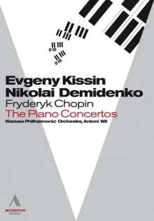 Frederic Chopin (1810-1849): Klavierkonzerte Nr.1 & 2, DVD