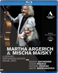 Martha Argerich & Mischa Maisky - Lucerne, Blu-ray Disc