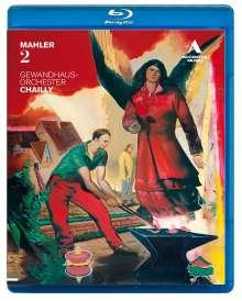 Gustav Mahler (1860-1911): Symphonie Nr.2, Blu-ray Disc