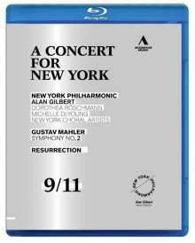 New York Philharmonic - A Concert for New York, Blu-ray Disc