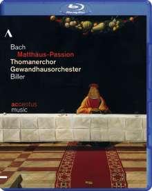 Johann Sebastian Bach (1685-1750): Matthäus-Passion BWV 244, Blu-ray Disc