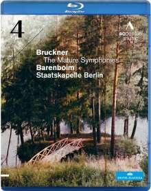 Anton Bruckner (1824-1896): Symphonie Nr.4, Blu-ray Disc