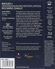 Gustav Mahler (1860-1911): Symphonie Nr.4, Blu-ray Disc