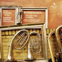 Modest Mussorgsky (1839-1881): Bilder einer Ausstellung (Fassung für Bläser), CD