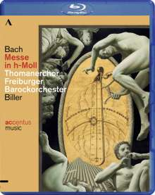 Johann Sebastian Bach (1685-1750): Messe h-moll BWV 232, Blu-ray Disc