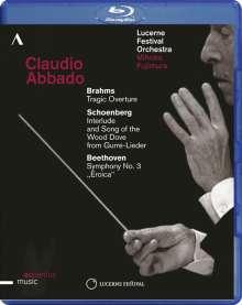 Claudio Abbado - Lucerne Festival 2013, Blu-ray Disc