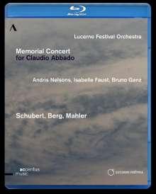 Lucerne Festival Orchestra - Memorial Concert for Claudio Abbado, Blu-ray Disc