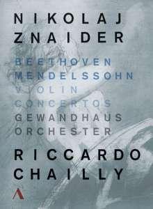 Nikolaj Znaider / Gewandhausorchester / Riccardo Chailly - Violinkonzerte, DVD