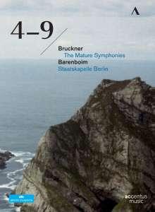 Anton Bruckner (1824-1896): Symphonien Nr.4-9, 6 DVDs