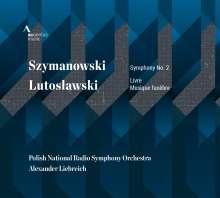 Karol Szymanowski (1882-1937): Symphonie Nr.2, CD