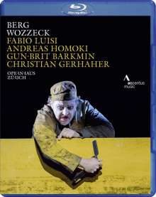Alban Berg (1885-1935): Wozzeck, Blu-ray Disc