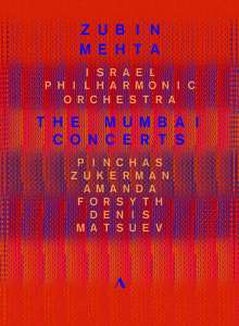 Israel Philharmonic Orchestra - The Mumbai Concerts 2016, DVD