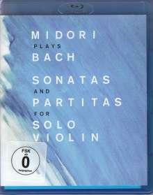 Johann Sebastian Bach (1685-1750): Sonaten & Partiten für Violine BWV 1001-1006, Blu-ray Disc