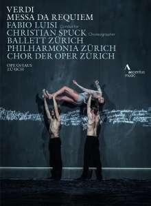 Giuseppe Verdi (1813-1901): Requiem (Ballettaufführung aus Zürich), DVD