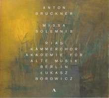 Anton Bruckner (1824-1896): Missa solemnis B-dur (1854), CD