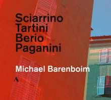 Michael Barenboim - Sciarrino / Tartini / Berio / Paganini, CD