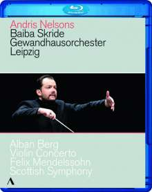 Andris Nelsons - Antrittskonzert in Leipzig, Blu-ray Disc
