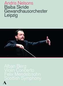 Andris Nelsons - Antrittskonzert in Leipzig, DVD