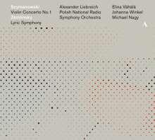 Karol Szymanowski (1882-1937): Violinkonzert Nr.1, CD