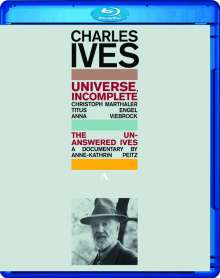Charles Ives (1874-1954): Universe,Incomplete, Blu-ray Disc