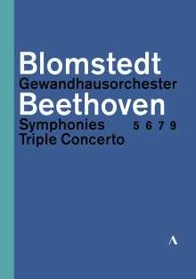 Ludwig van Beethoven (1770-1827): Symphonien Nr.5-7,9, 3 DVDs