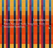 Polnische Orchesterwerke - Szymanowski / Lutoslawski, 3 CDs