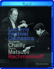 Lucerne Festival Orchestra - Rachmaninoff, Blu-ray Disc