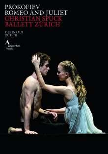 Zürich Ballet - Romeo & Julia (Musik: Sergei Prokofieff), DVD