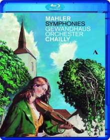 Gustav Mahler (1860-1911): Symphonien Nr.1,2,4-9, 8 Blu-ray Discs
