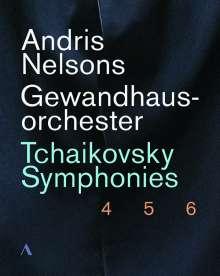 Andris Nelsons  - Live at the Gewandhaus Leipzig 2018/2019, 3 Blu-ray Discs