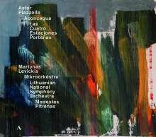 """Astor Piazzolla (1921-1992): Bandoneon-Konzert """"Aconcagua"""", CD"""