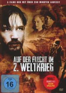Auf der Flucht im 2. Weltkrieg (Box-Edition), DVD