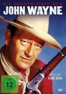 John Wayne - Die Gesetzlosen (4 Filme), DVD