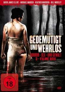 Gedemütigt und Wehrlos (3 Filme), DVD